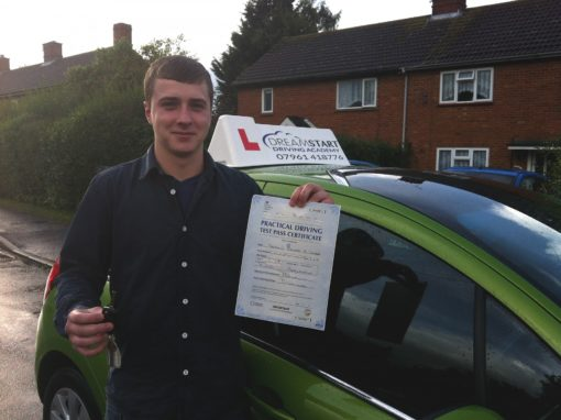 Ben L – Passed first time on 14th October 2013
