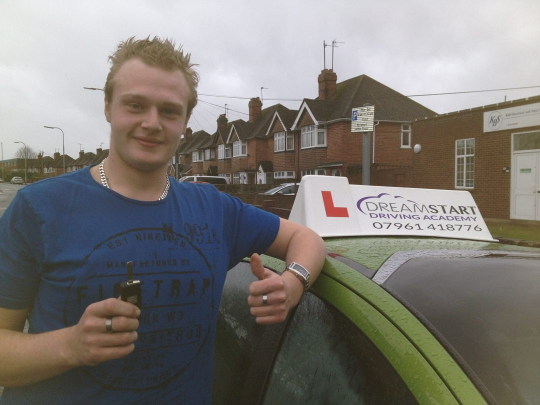 Sam T – Passed first time on 11th February 2014