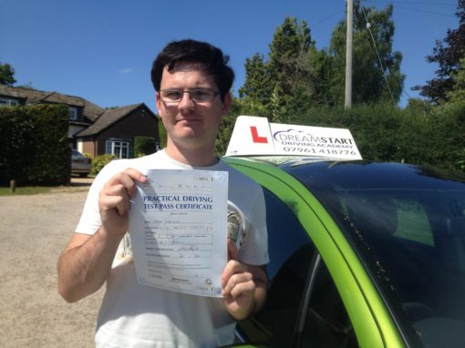 Todd R – Passed first time on 3rd July 2014