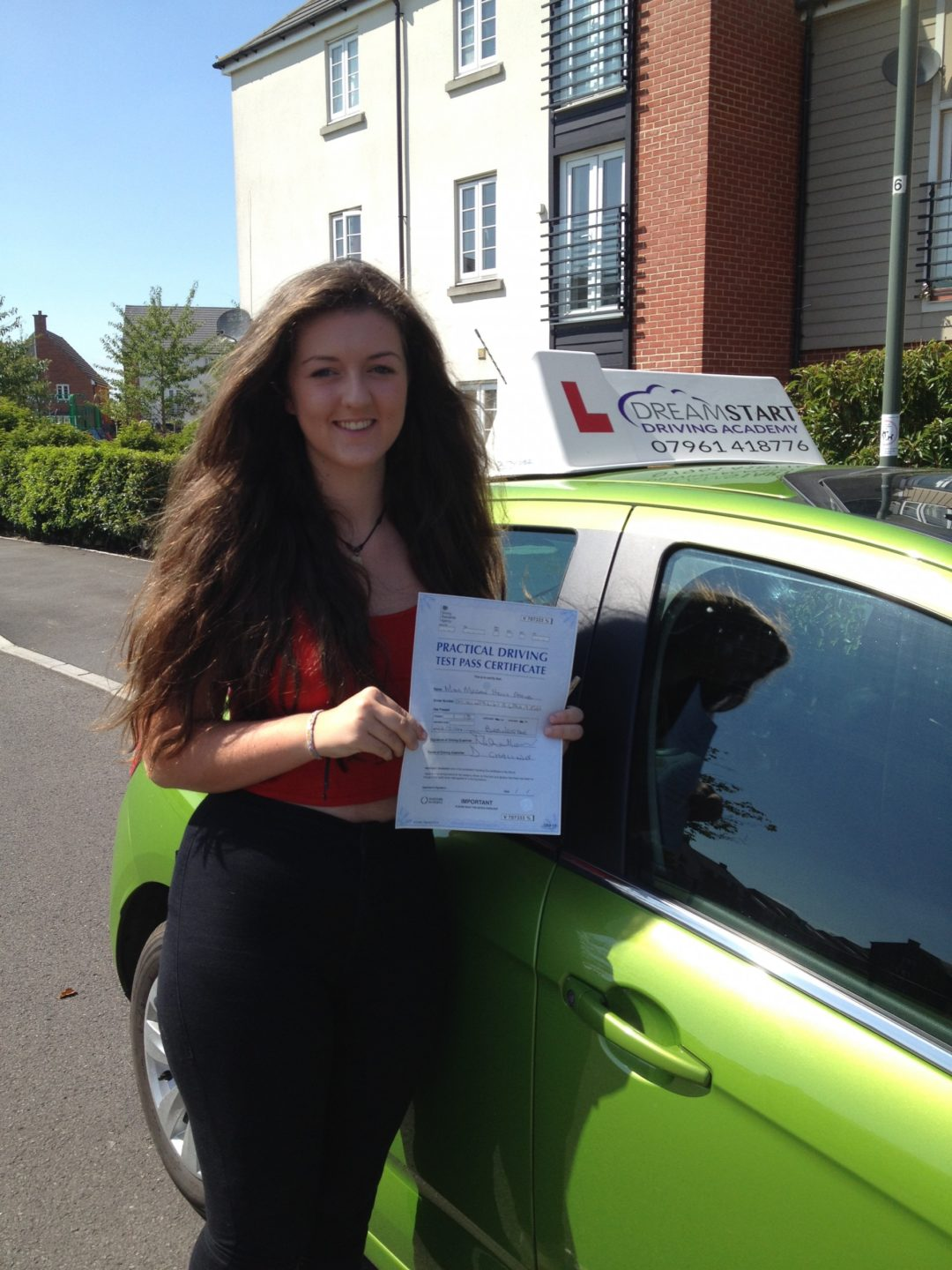 Megan A – Passed first time on 22nd July 2014