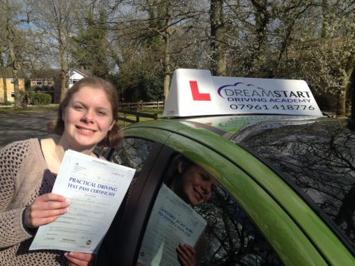 Kelly T – Passed on 24th March 2015 with a clean sheet (no faults!)