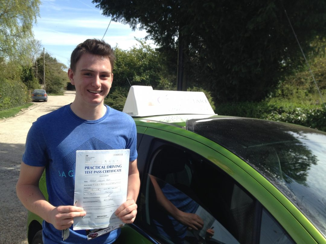 James P – Passed first time on 17th April 2015