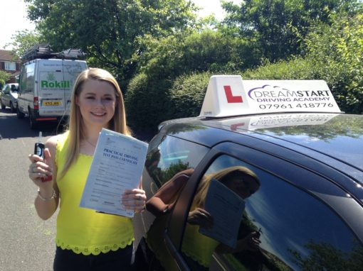 Ella B – Passed first time 18th June 2015