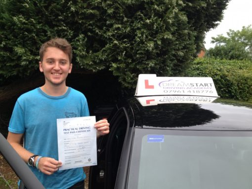 Fergus C – Passed 1st time on 18th August 2015