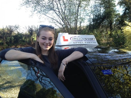Abby F – Passed first time on 28th April 2016