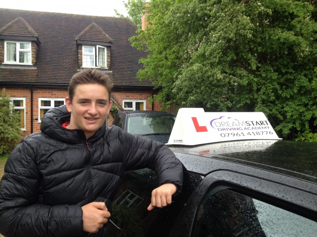 Adam T – Passed first time on 10th May 2016
