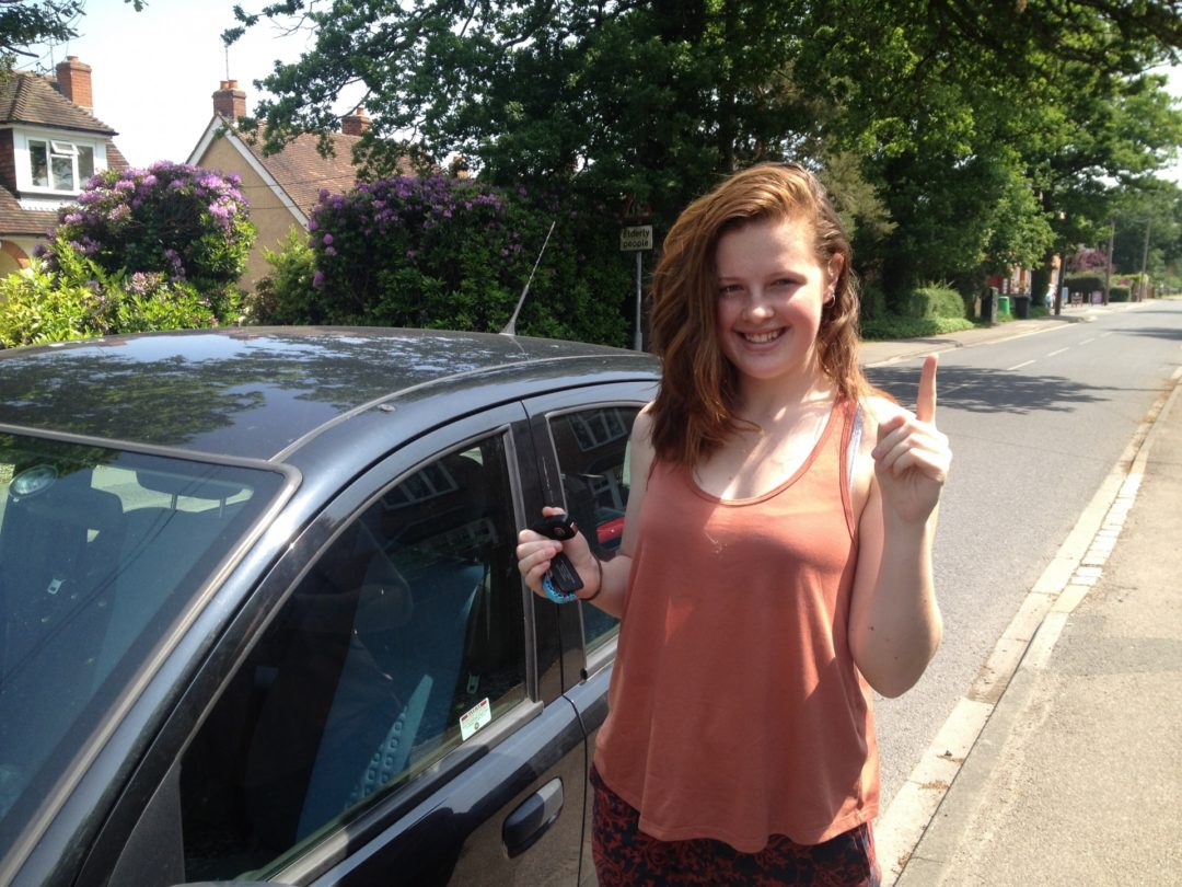 Gemma H – Passed first time on 9th June 2016
