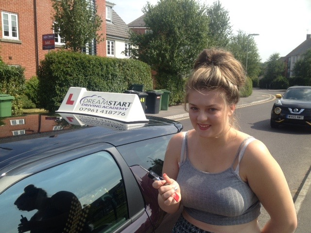 Chloe A – Passed first time on 17th August 2016