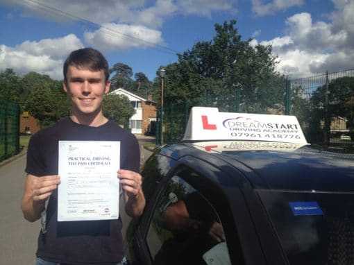 Alistair L – Passed first time on 22nd September 2016