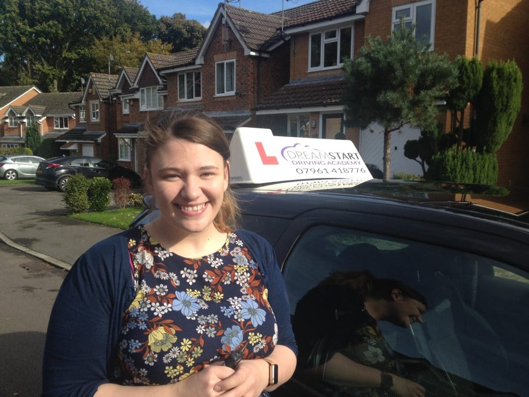 Tasmin H – Passed her test on 18th October 2016