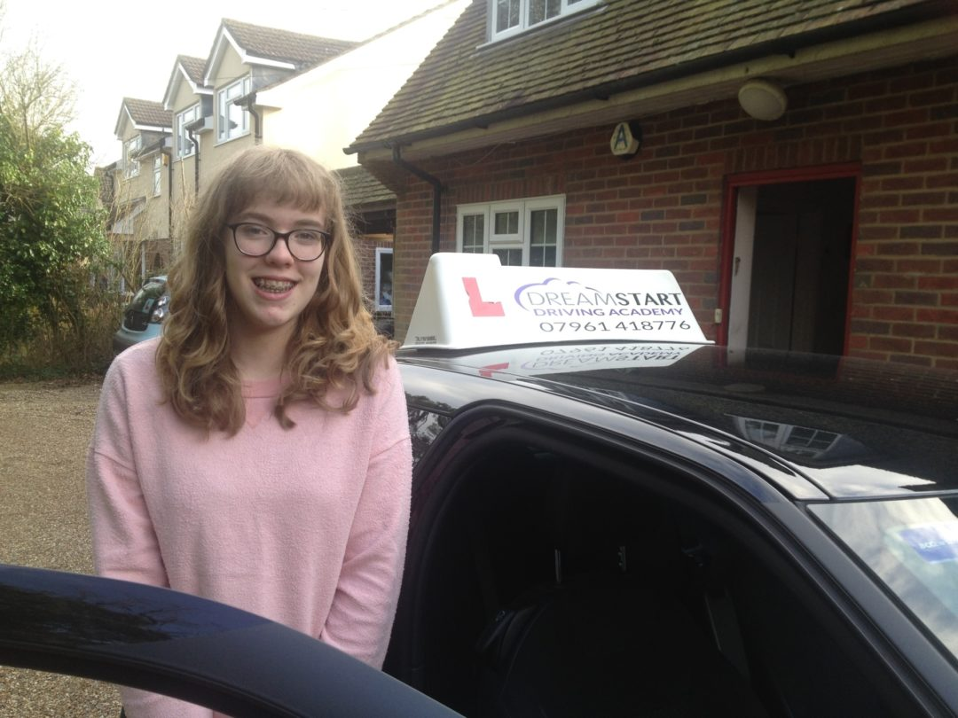 Joolz T – Passed first time on 14th February 2017
