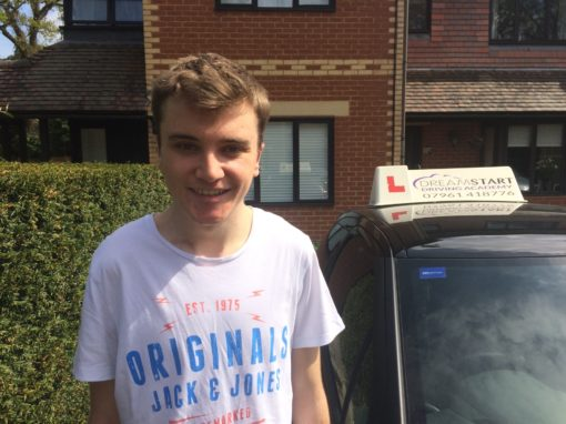Archie C – Passed first time on 12th April 2017