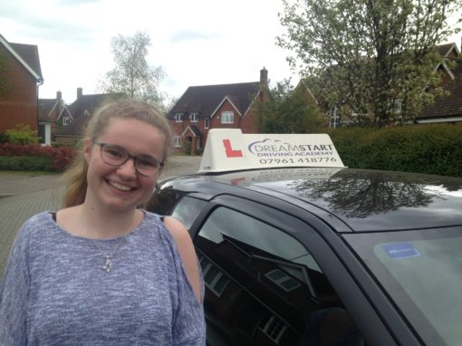 Anna K – Passed first time on 13th April 2017
