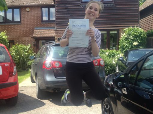 Jess F – Passed her test on 24th May 2017