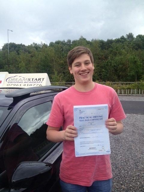 Mitchell C – Passed first time on 18th August 2017