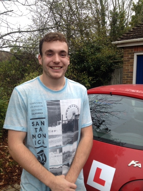 Matt D – Passed first time on 26th October 2017