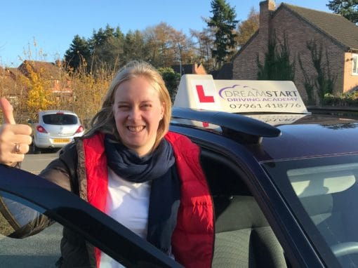Joanna S – Passed first time on 23rd November 2017
