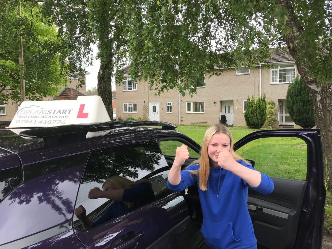Toni-Marie D – Passed first time on 25th May 2018