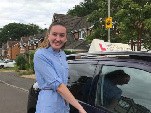 Holly T – Passed first time on 17th July 2018