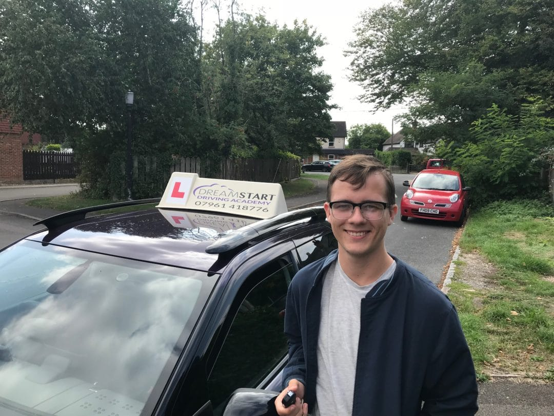 Louis A – Passed first time on 5th September 2018
