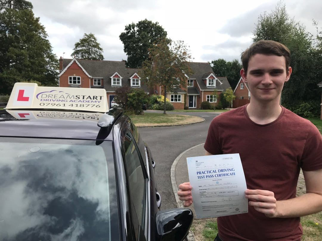 James M – Passed first time on 10th September 2018