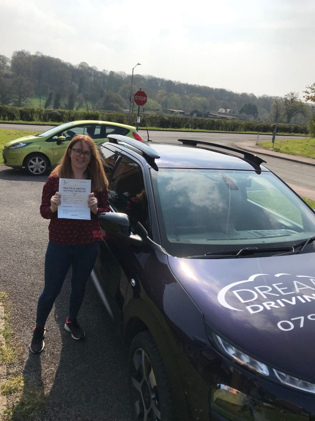 Lindsay P – Passed first time on 15th April 2019