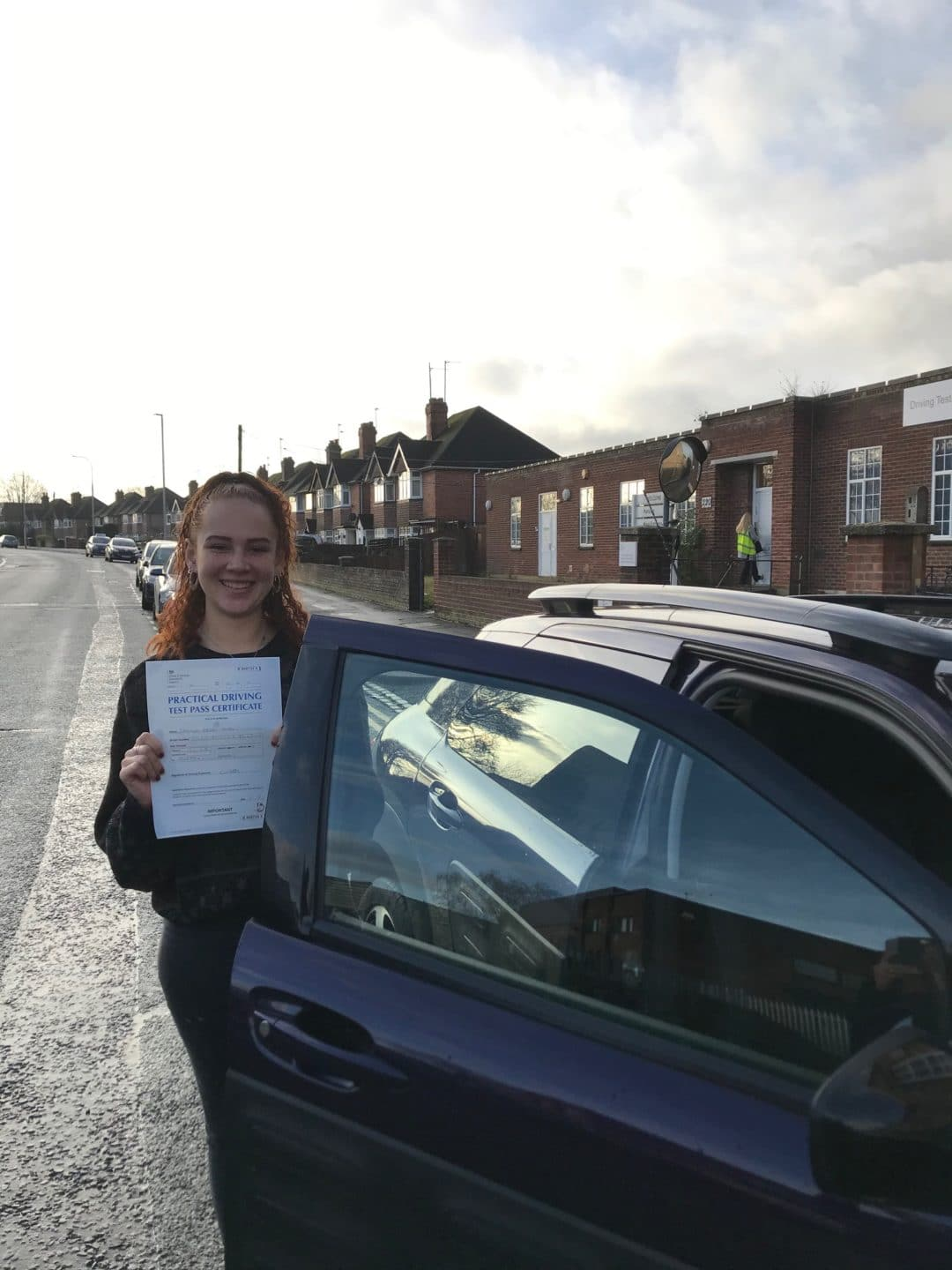 Zhanaye F – Passed first time on 19th December 2019