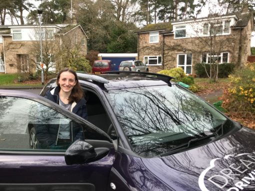 Emily L – Passed first time on 8th January 2020