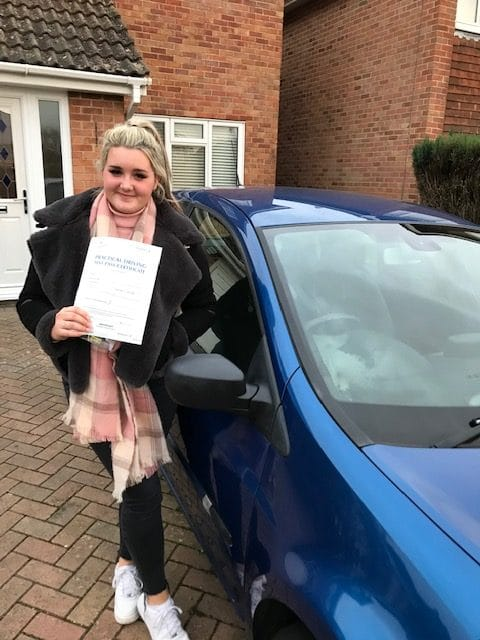 Kirsty P – Passed first time (with Dreamstart) on 5th February 2020